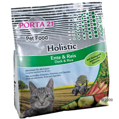Croquettes pour chat Porta 21 Holistic Cat, canard & riz- 2 kg