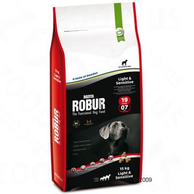 Bozita Robur Light & Sensitive 19/07 - 12.5kg