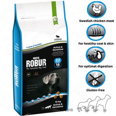 Bozita Robur Active & Sensitive 22/16 - 2 kg