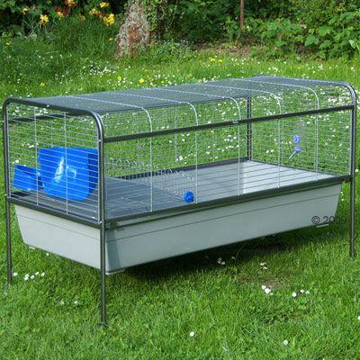 Cage pour lapin et cochon d