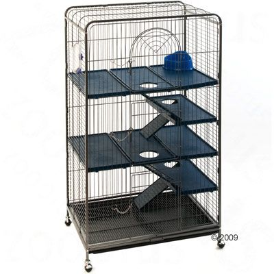 Ferret, Squirrel, and Chinchilla Cage Perfect - 79 x 52 x 141 cm
