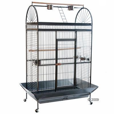Cage pour perroquet Caesar- L 123 x l 82 x H 178 cm