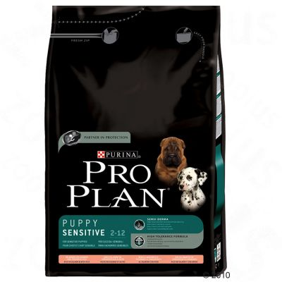 Purina Pro Plan Puppy Sensitive - Salmon & Rice - 14kg