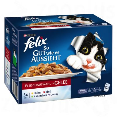 Felix As Good As It Looks 12 x 100g - Ocean Feasts in Jelly