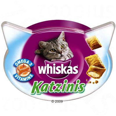 Whiskas Katzinis - Saver Pack: 3 x 50g