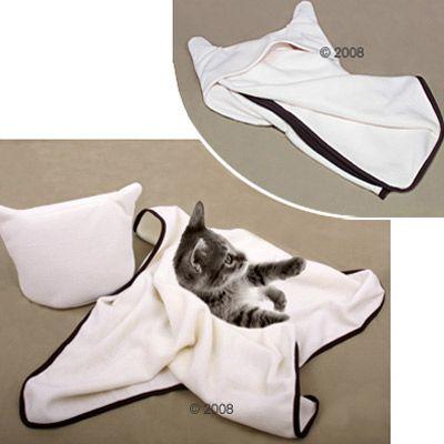 Couverture pour chaton Creamy Cat- L 60 x l 40 cm