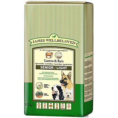 James Wellbeloved Senior/ Light Lamm & Reis - Sparpaket 2 x 10 kg