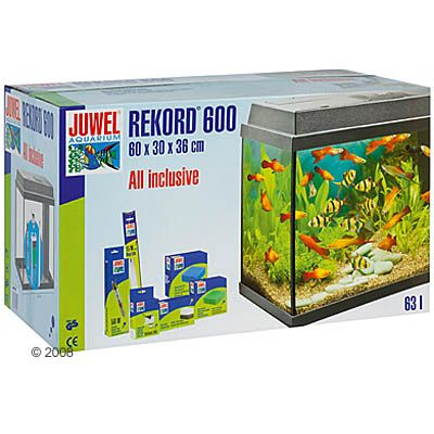 Juwel Rekord 600 Aquarium - approx. 63 l, black