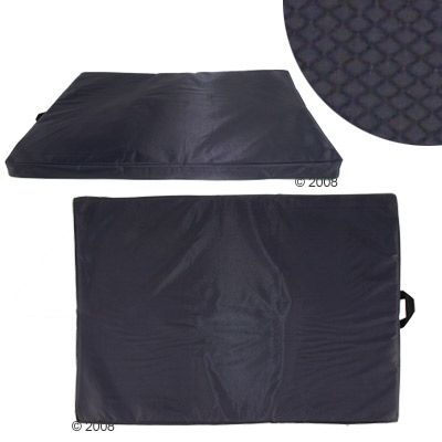 Hygienic Dog Mattress Mister Big, Black - 100 x 70 x 4 cm (L x W x H)