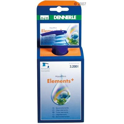 Dennerle AquaRico Elements+ - 100 ml for 3.200 l Aquarium water