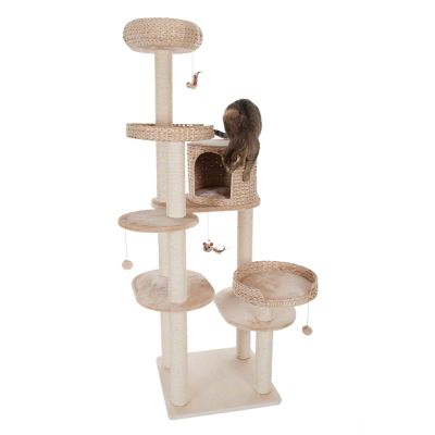 Natural Home IV Cat Tree - beige
