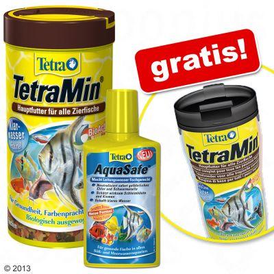 Set Tetra Top Seller + termo ¡gratis! - - TetraMin 1000 ml, AquaSafe 500 ml + termo ¡gratis !