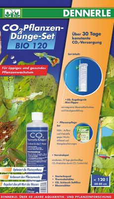 Dennerle BIO 120 Profi Complete Set - for up to 120 l