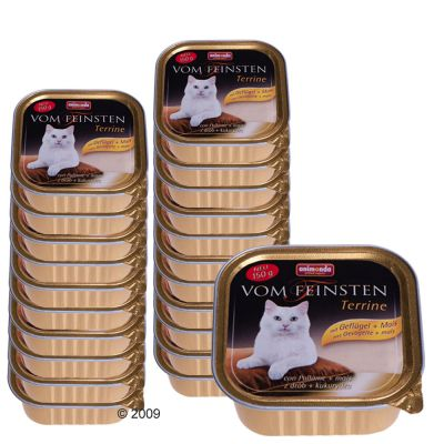 Savings Pack Animonda vom Feinsten Terrine 22 x 150 g - Game & Carrot