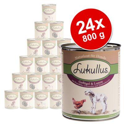 24 x 800 g Lukullus Variety - Value Pack - Option IV
