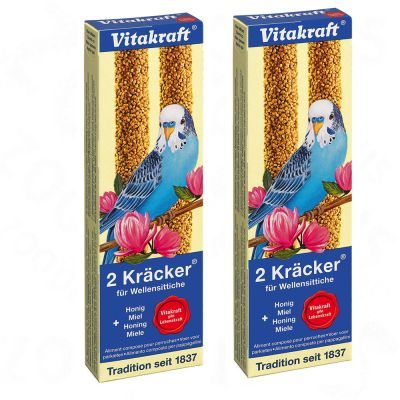 Vitakraft Nostalgia Crackers - Parakeets - 2 x 2 crackers