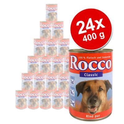 Rocco Classic Value Pack 24 x 400 g - Beef  with Chicken