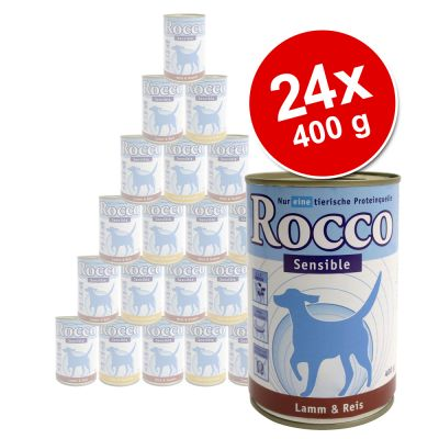 Rocco Sensible Value Pack 24 x 400 g - 4 Different Flavours