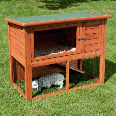 Outback Classic Hutch with Run - Classic I & Run:  104 x 52 x 92 cm