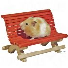 Wooden Small Pet Bench - 18 x 11 x 12 cm (LxWxH)