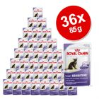 Royal Canin Pouches Savings Pack 36 x 85 g - Instinctive +7