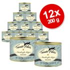 Terra Faelis Fish Menus Savings Pack 12 x 200 g - Pangasius Fish with Carrots & Dandelion