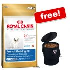 Large Bags Royal Canin Breed + Trixie Pet Food Bin Free! - Bulldog 30 Junior (12 kg)