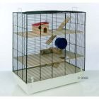 Fun Area Leon Small Pet Home - 67 x  36.5 x  65 (L x W x H) - Small Pet Supplies