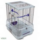 Hagen Bird Cage Vision II Model S02 - white S02: 46 x 36 x 84 cm (L x W x H) - Bird Supplies