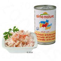 Almo Nature 6 x 140 g - - Thunfisch, Huhn & Schinken