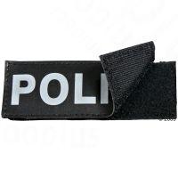 2 klittenband-stickers grootte 1 (7 x 2,5 cm) - - Catnip