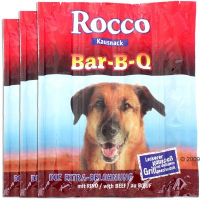 Rocco BBQ Sticks 12 pieces Super Saver Pack 12 x 12g Beef