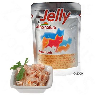 Almo Nature Jelly 6 x 70 g - Tuna & Sole