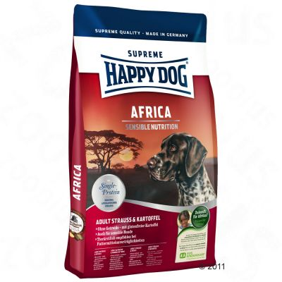 Hundefutter trocken - Happy Dog Supreme - Happy Dog Supreme Africa Hundefutter - 12,5 kg