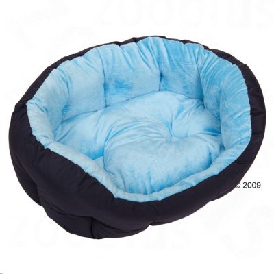 Dog Bed Cozy Ocean - 60 x 55 x 22 cm (L x W x H)