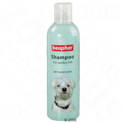 Beaphar Dog Shampoo for White Coats - 250ml
