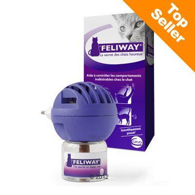 Feliway Diffuseur  pour chat- 1 diffuseur  + 1 flacon de 48 ml