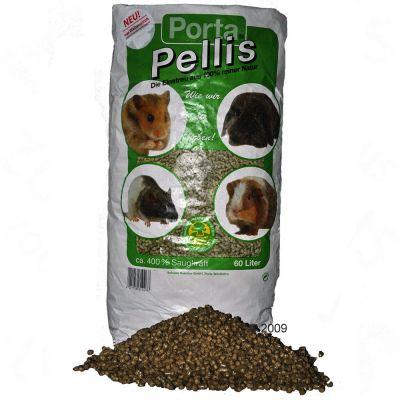 Porta Pellis Granules de paille pour rongeur - 60 L