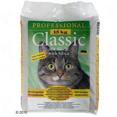 Professional Classic Cat Litter with Odour Neutraliser - Economy Pack: 2 x 15kg