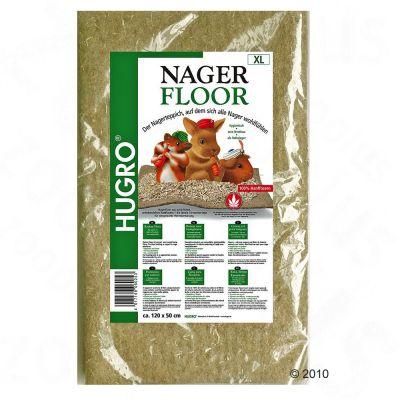 Nagerfloor Tapis de chanvre pour rongeur - 1 tapis : L 40 x l 100 cm