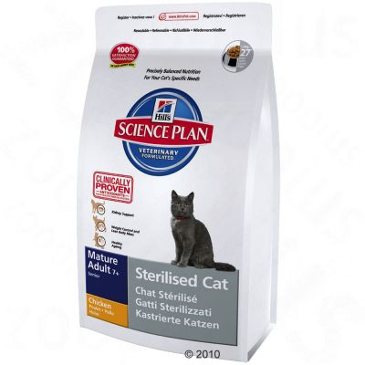 Hill´s Feline Sterilised Cat Mature Adult - 300 g