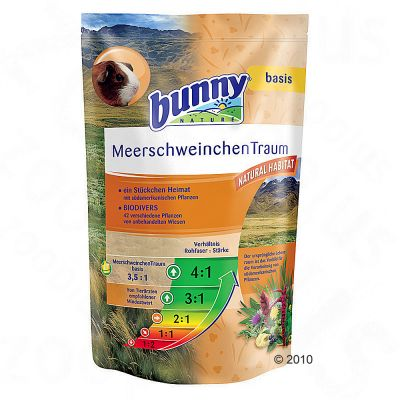 Bunny MeadowFeast Basic for Guinea Pigs - Economy Pack: 2 x 4 kg