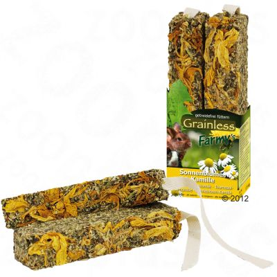 Jr Farm Farmy's Grainless - 2 x 2 portions sunflower and camomile