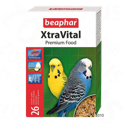 beaphar XtraVital Budgerigar - Double pack 2 x 1 kg