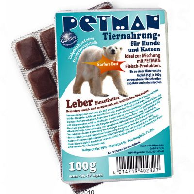 Petman Leber Supplement – 15 x 100 g