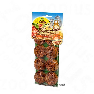 JR Farm Wholemeal Shrimp & Prawn Cookies - Saver Pack: 2 x 8 pieces