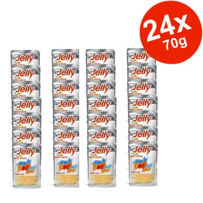 Savings Pack Almo Nature Jelly 24 x 70 g - Tuna & Baby Sardines