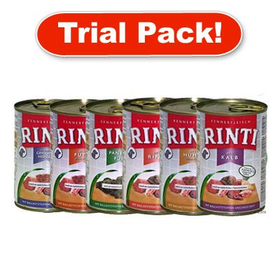 Rinti 6 x 400 g Mixed  Trial Pack - 6 x  400g Mixed Trial Pack