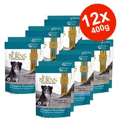Burns Penlan Farm Range 12 x 400 g Savings Pack - Lamb, Brown Rice & Vegetables
