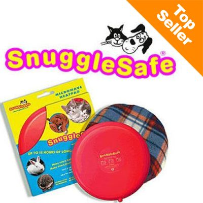 SnuggleSafe Heat Pad for Pets - SnuggleSafe Cover Bonzo for dogs